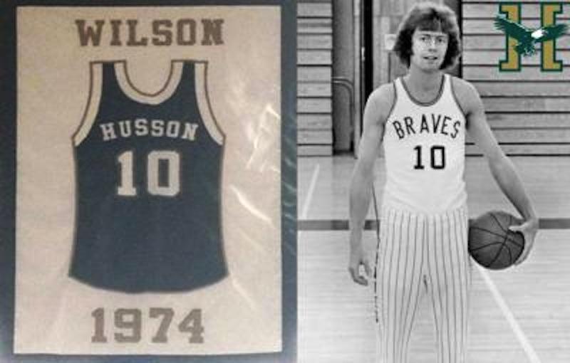Former Husson University basketball star Dana Wilson.