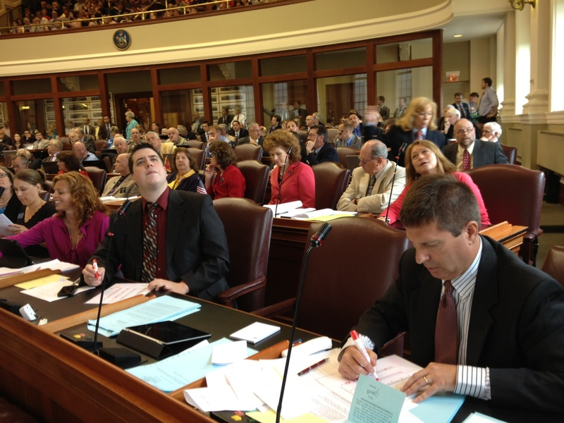 Maine lawmakers vote on whether to override Gov. Paul LePage's veto of the state budget on Wednesday.
