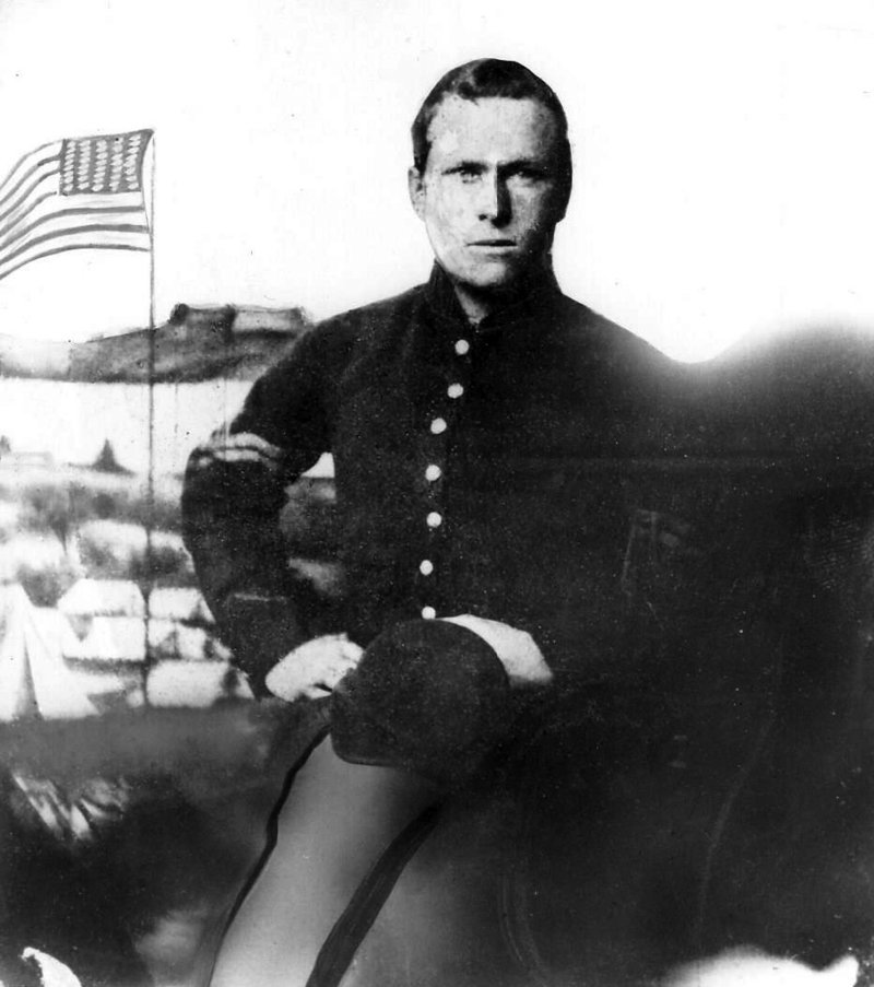 """Livermore wrote: """"There were as many as 30 or 40 lay dead there of that (regiment). They had laid there 3 days in hot July weather and I wish I never could see another such a sight. It is nothing to see men that have just been killed. But every man was swollen as large as two men and purple and black."""""""