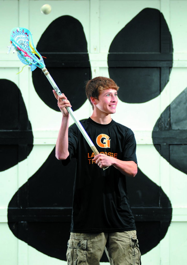 Gardiner Area High School's Keegan Smith is the Kennebec Journal Boys Lacrosse Player of the Year.