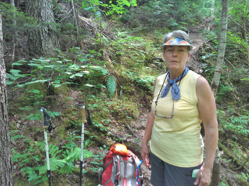 Appalachian Trail hiker Kathy Odvody said today that 12 passers-by have asked her if she is Geraldine Largay, the missing hiker from Tennessee.
