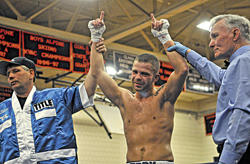 REMATCH: Brandon Berry of West Forks will face Bill Jones in his second professional fight Saturday. Berry beat Jones by TKO in the fourth round in his first professional fight in May.