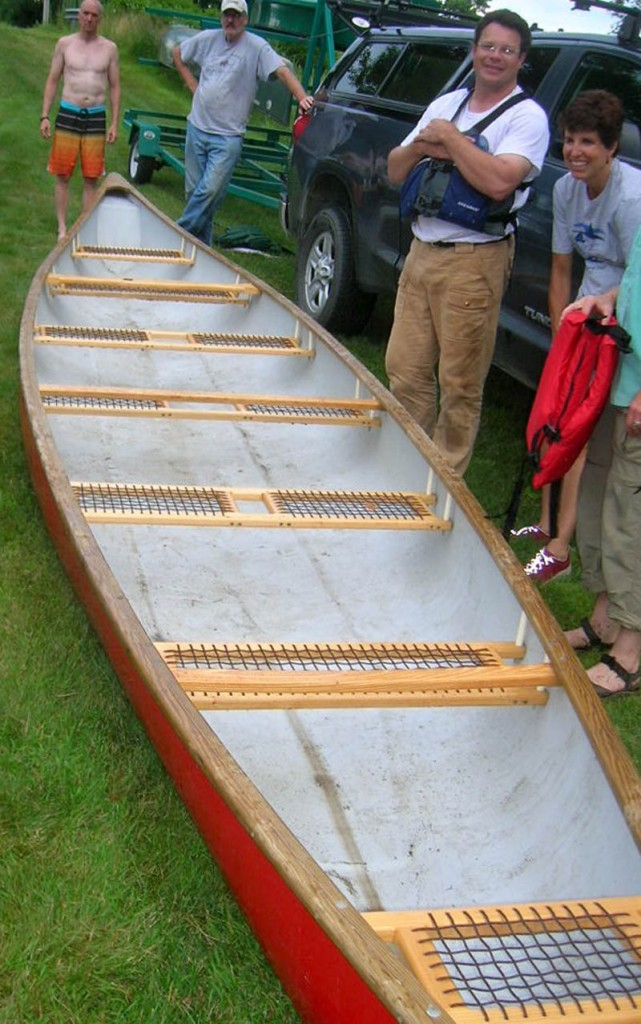 An annual kayak and canoe race in Skowhegan will feature teams from Canada and the United States in 28-foot war canoes. The canoes are modeled after Penobscot Indian Nation designs, according to their builder, Mike Maybury. The race is up the Kennebec River from the Swinging Bridge at 6:30 p.m. Thursday.