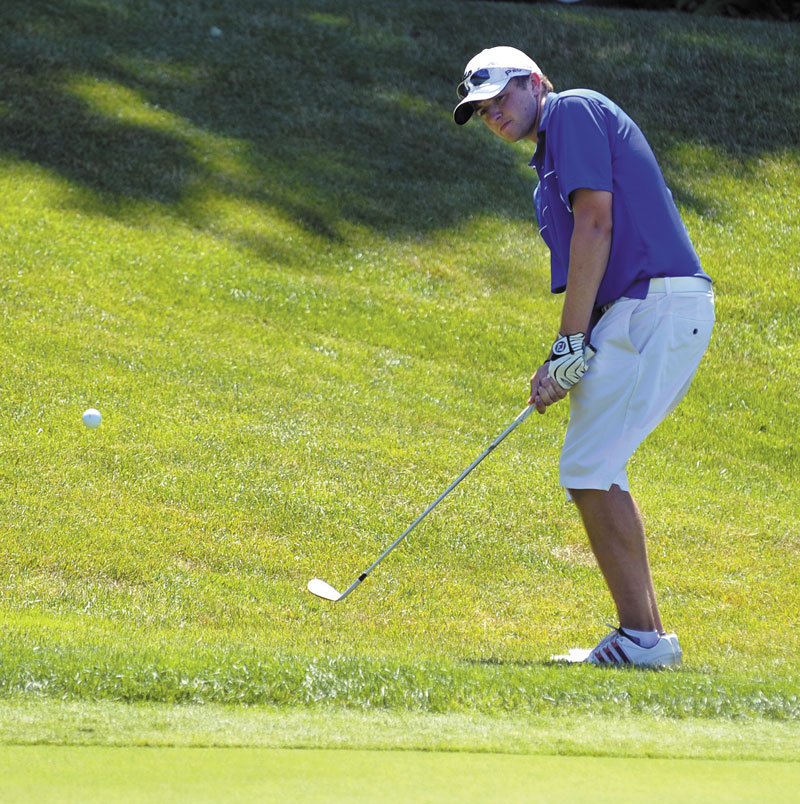 DEFENDING HIS CROWN: Seth Sweet won his first Maine Amateur title last summer at Sunday River Golf Club in Newry, beating Ricky Jones and JJ Harris by three strokes. He'll try to defend his title starting today at the Augusta Country Club.
