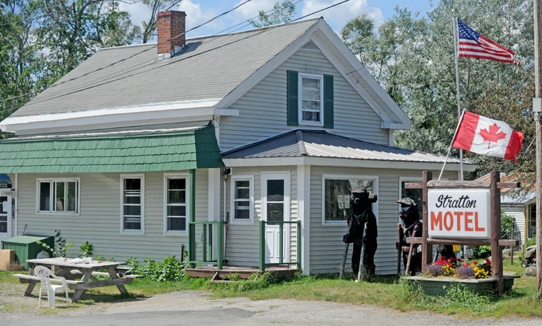 The Stratton Motel, on Main Street in Stratton, on Thursday.