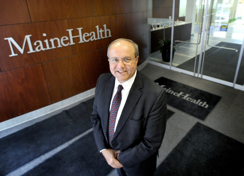 MaineHealth CEO Bill Caron