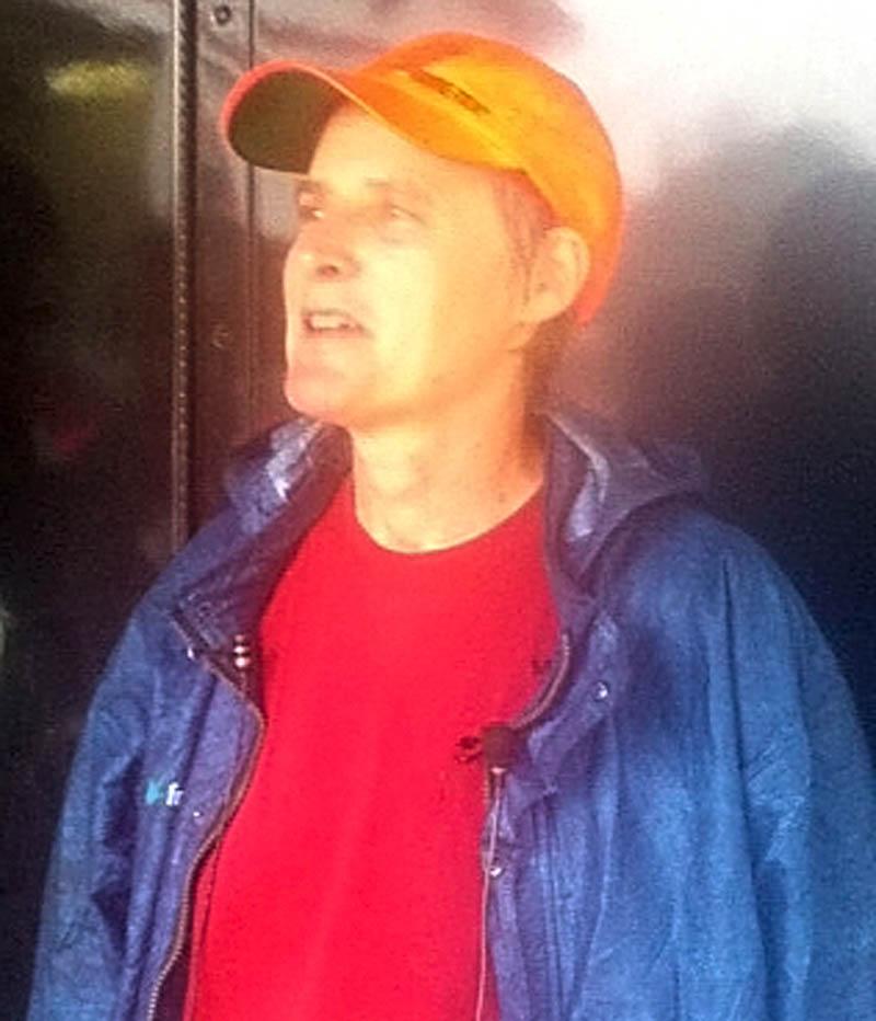 Deborah Palman and her dog Quinn found missing Benton resident Arthur Wakeman.