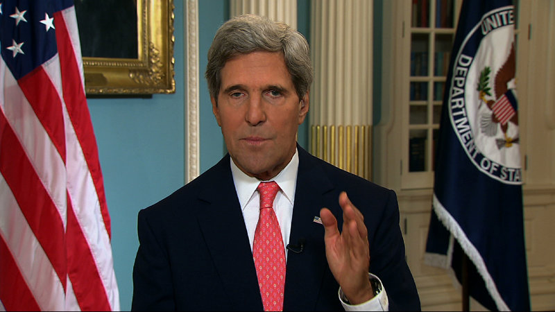 During appearances on five Sunday talk shows, Secretary of State John Kerry predicted Congress will approve military strikes in Syria.