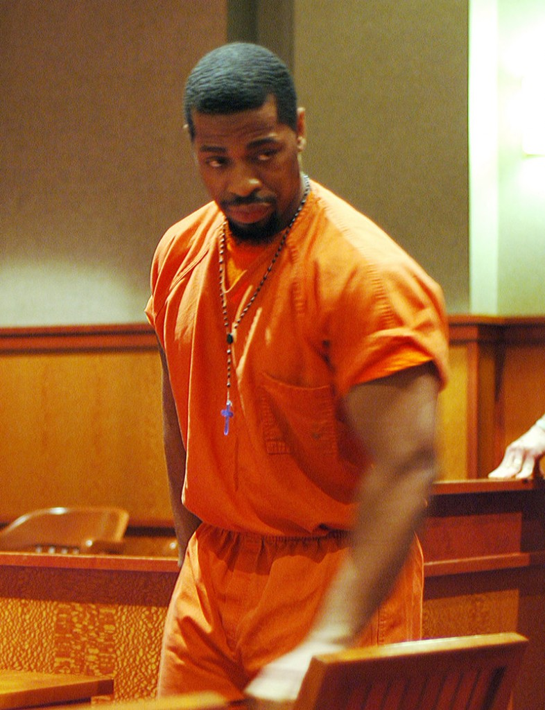Fitzgerald Carryl, 31, of Brooklyn, N.Y., was sentenced on Tuesday, Sept. 24, 2013 in Cumberland County Unified Criminal Court to serve 8 1/2 in prison for trying to steal a Portland police officer's service pistol after his arrest on Oct. 1, 2012.