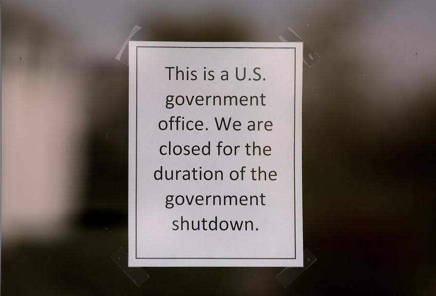 The U.S. Fish and Wildlife Service at 4 Fundy Road in Falmouth, photographed Friday, October 4, 2013, is closed due to the federal government shutdown.