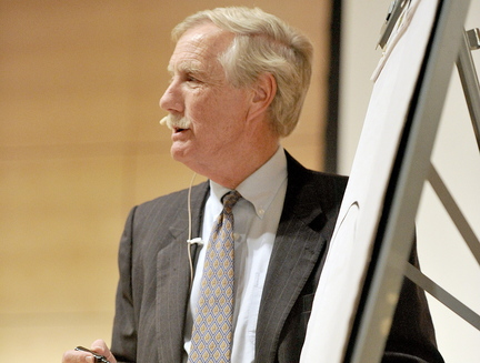 """Sen. Angus King, one of the """"group of 14"""" who urged negotiation, is named to a key conference committee."""