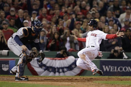 Xander Bogaerts started the season as a member of the Portland Sea Dogs. He is now a contributing member of a Boston Red Sox team on the brink of winning a third World Series title in the last 10 years.
