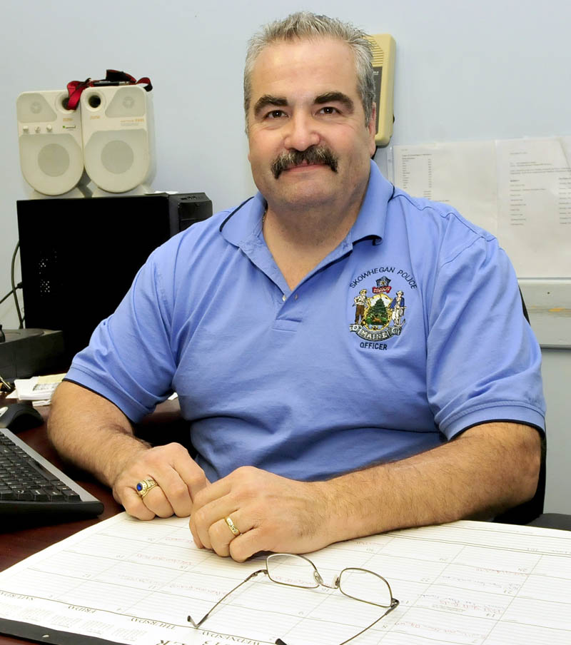 Skowhegan Police Deputy Chief Donald Bolduc