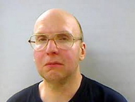 Arrested: Christopher Knight's jail booking photo when he was arrested April 4, 2013.
