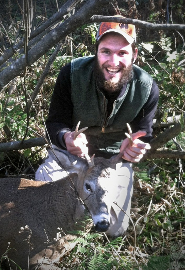 Bowhunter Grant Owens of Windsor gave the deer he has in this photo to Hunters for the Hungry last week. The Hunters for the Hungry program provides a means for hunters to donate all or a portion of their hunt takings to a family in need.