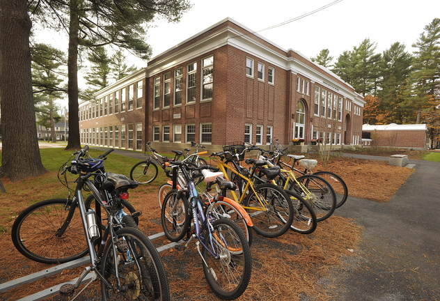 The former Longfellow Elementary School in Brunswick has been converted into a state of the art facility by Bowdoin College.