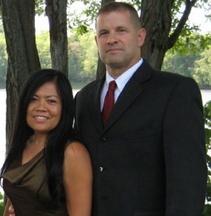 Amalia and Mark McConnell