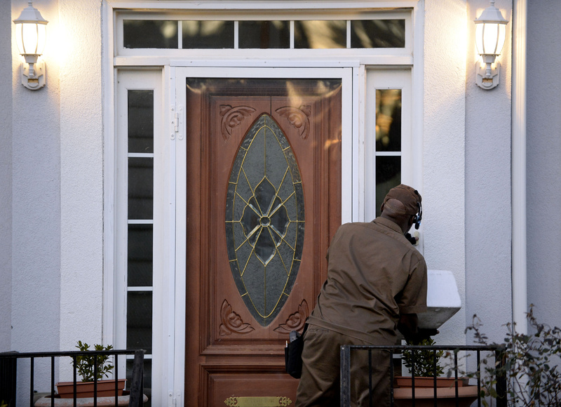 A UPS driver makes a delivery earlier this month in Stone Mountain, Ga. lottery,Mega Millions,winner,tickets,Stone Mountain,Atlanta