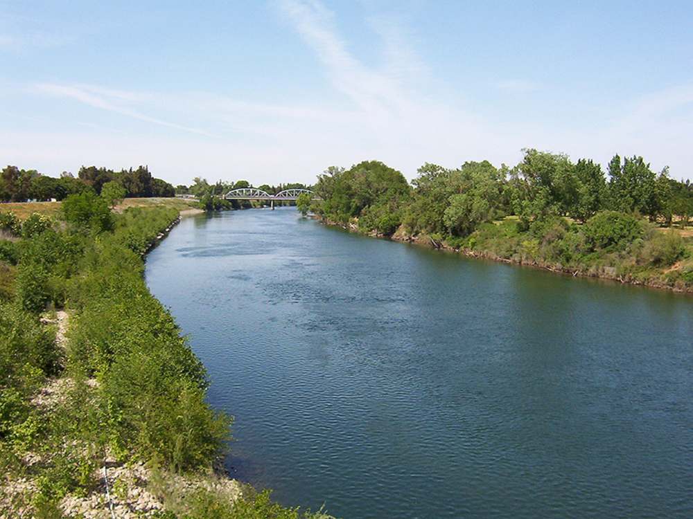 The American River in Sacramento, Calif. The National Blueways System was intended to promote watershed conservation and support sustainable and healthy water supplies.