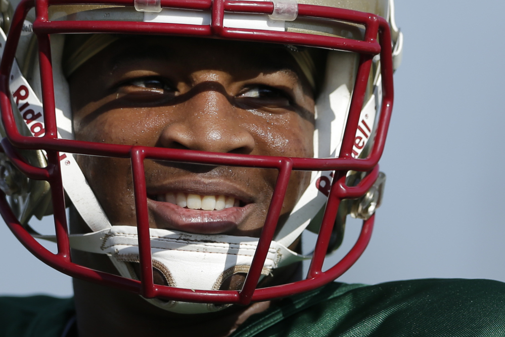 QUITE A SEASON: It has been a wild season for Florida State quarterback Jameis Winston, who was investigated for sexual assault, won the Heisman Trophy and led the seminoles into the BCS title game.