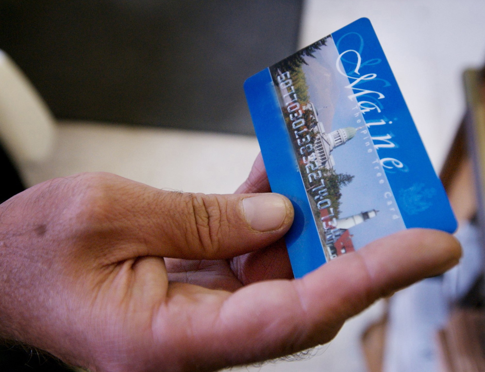 Electronic Benefits Transfer cards are used to access cash through the federal Temporary Assistance for Needy Families program.