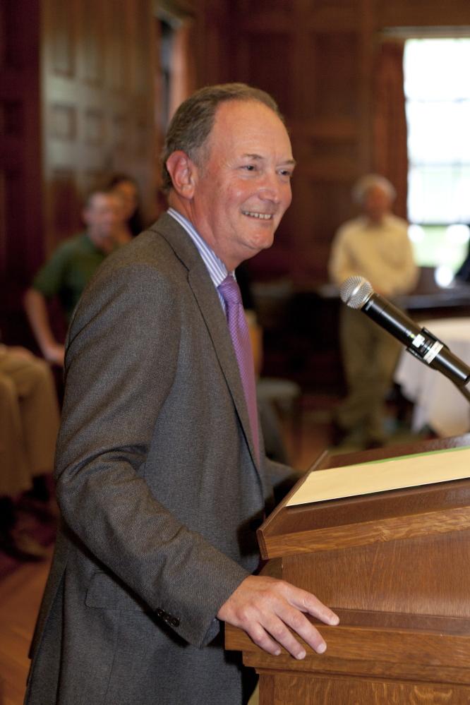 Bowdoin College President Barry Mills.