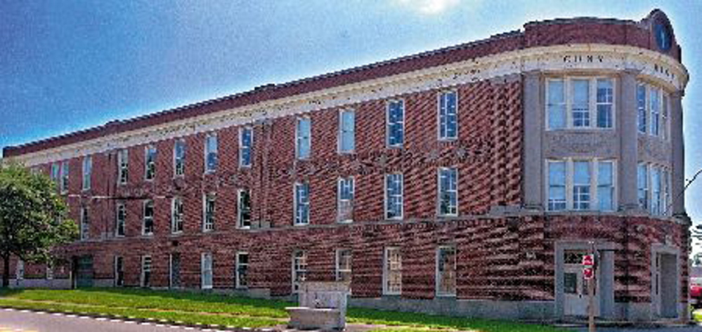 NEW USE: A developer plans to transform the former Cony High School in Augusta into elderly housing.