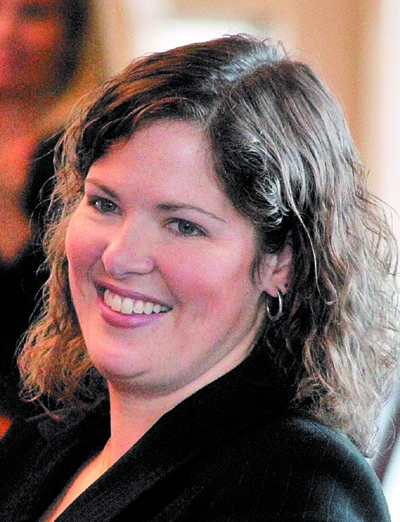 2nd DISTRICT: Rep. Emily Cain, seen here in 2012, has raised $300,000 in her primary bid for the 2nd Congressional District seat.