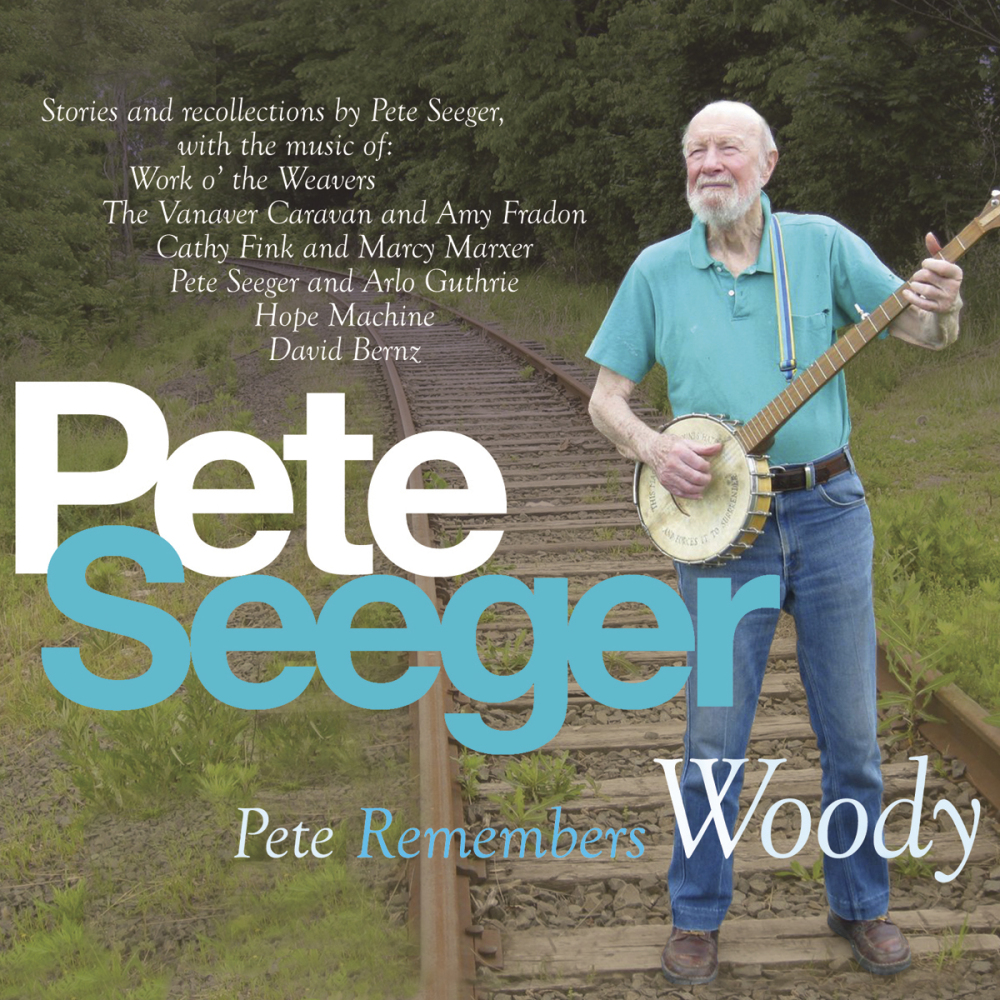 """This CD cover image released by Appleseed Recordings shows """"Pete Remembers Woody,"""" one of Seeger's two releases on the label."""