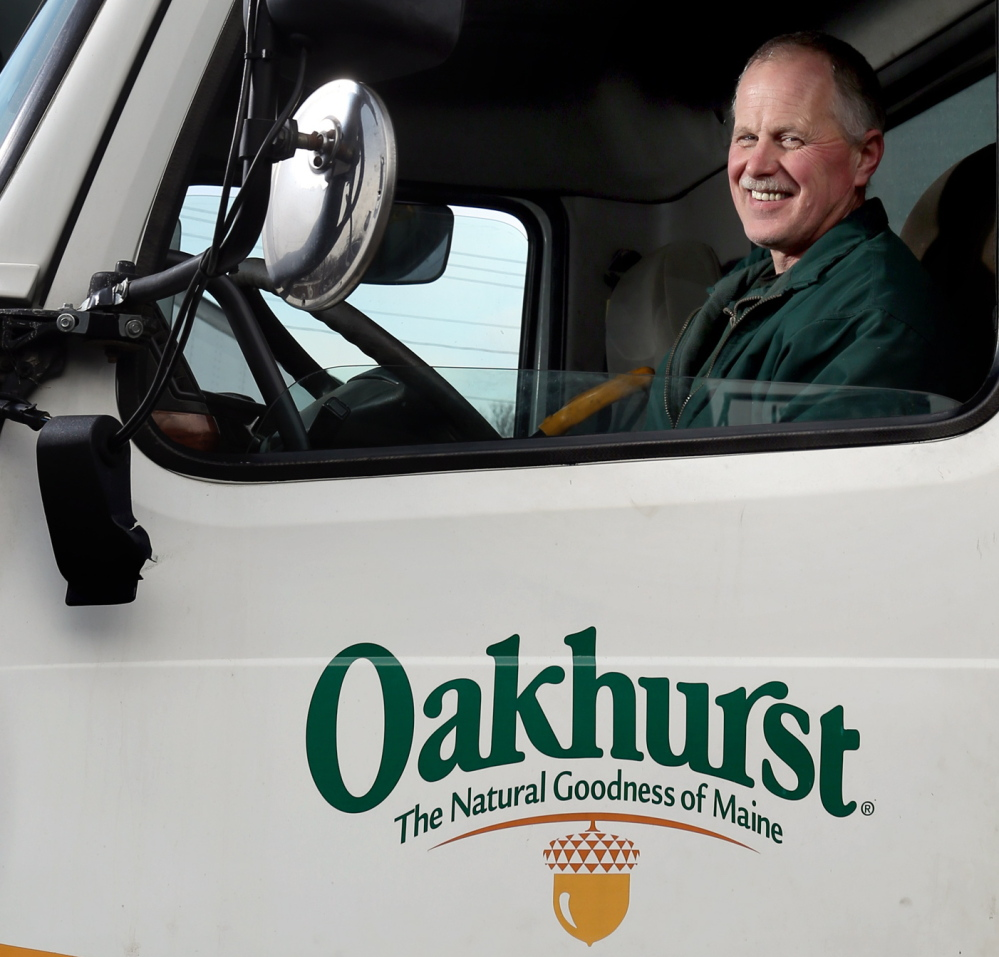 Tim Ahern is a driver for Oakhurst.
