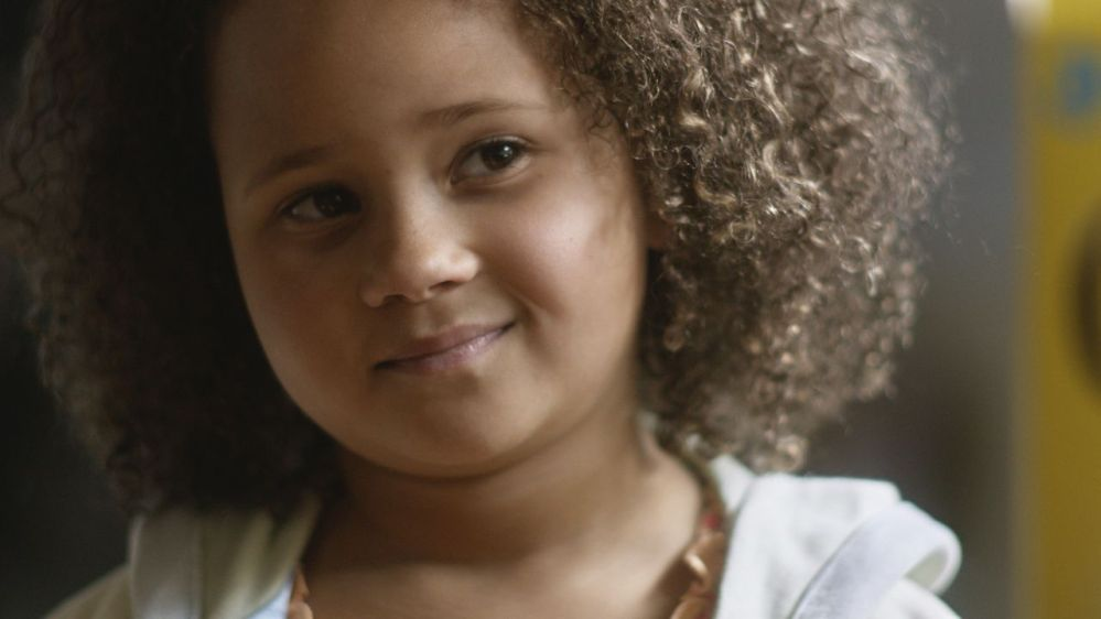 "This undated frame grab provided by General Mills shows the company's 2014 Super Bowl for Cheerios entitled ""Gracie."" Cheerios brings back its famous interracial family in a spot that shows a father using Cheerios to tell his daughter she's going to have a brother. The ad airs during the first unscheduled time-out of the game."