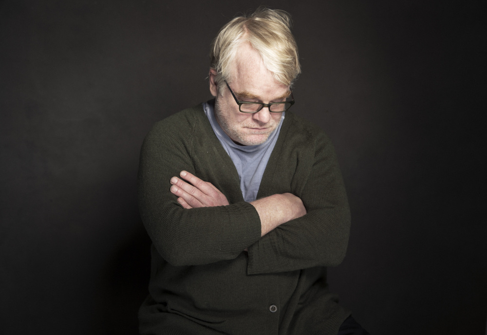 Phillip Seymour Hoffman poses for a portrait during the Sundance Film Festival in Park City, Utah, last month. Hoffman was found dead in his New York apartment Sunday.
