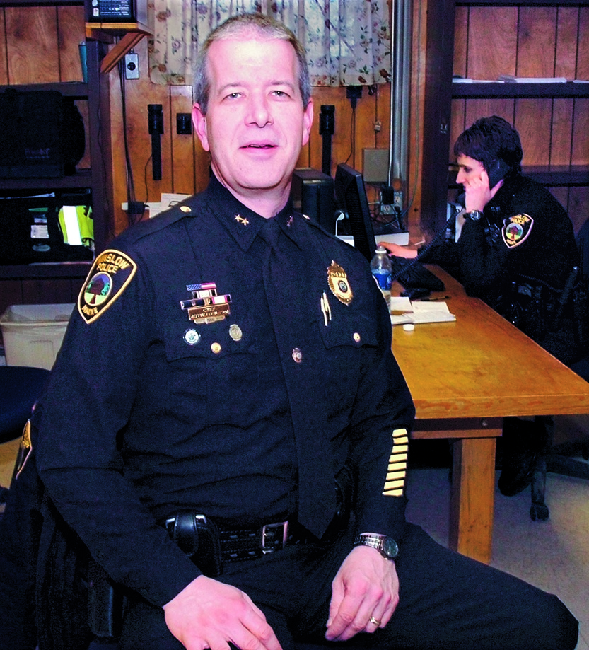 RESIGNED: Jeffrey Fenlason has resigned as Winslow's police chief.