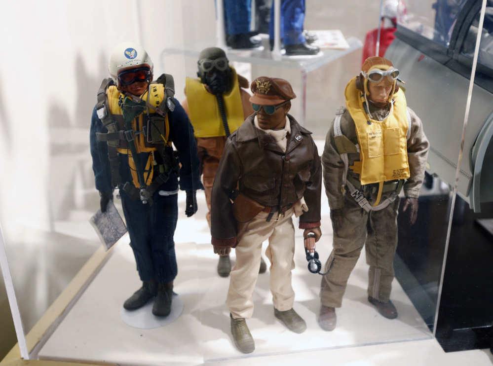 Tuskegee Airmen G.I. Joes.
