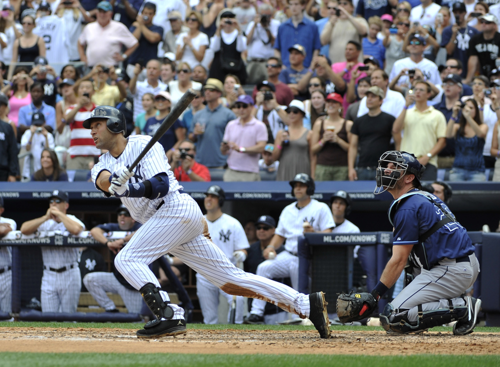 THIS IS THE END: New York Yankees shortstop Derek Jeter says he will retire after this season. Jeter posted a long letter on his Facebook account Wednesday, saying the 2014 will be his last year playing professional baseball.