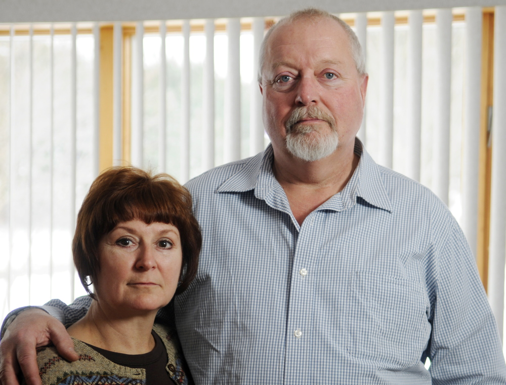 COST CONTROL: Susan and Michael Gove, of Gardiner, want medical consumers to know that shopping to find cheaper medical tests can save money.