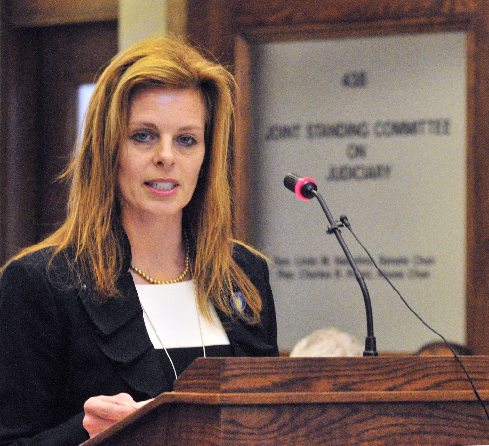 Rep. Amy Volk, R-Scarborough, is school board chairwoman of the virtual school approved Monday. She co-sponsored the bill in 2011 that created charter schools in Maine.