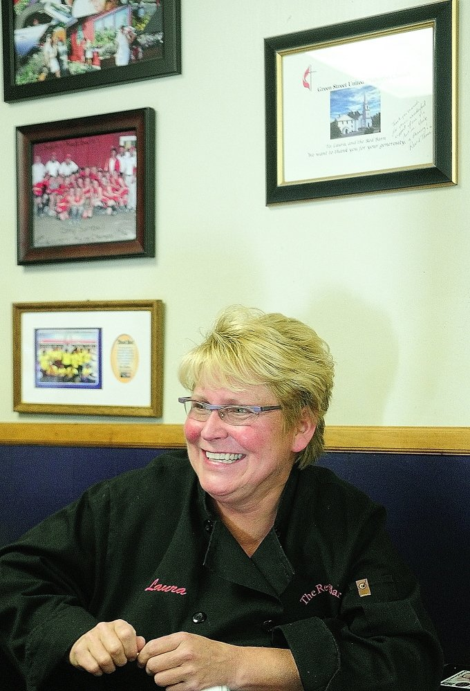 GREEN LIGHT: Red Barn restaurant owner Laura Benedict, shown in NOvember 2014, is ecstatic that lawmakers support a bill to make it easier for businesses to raise money for charities, according to her spokeswoman.