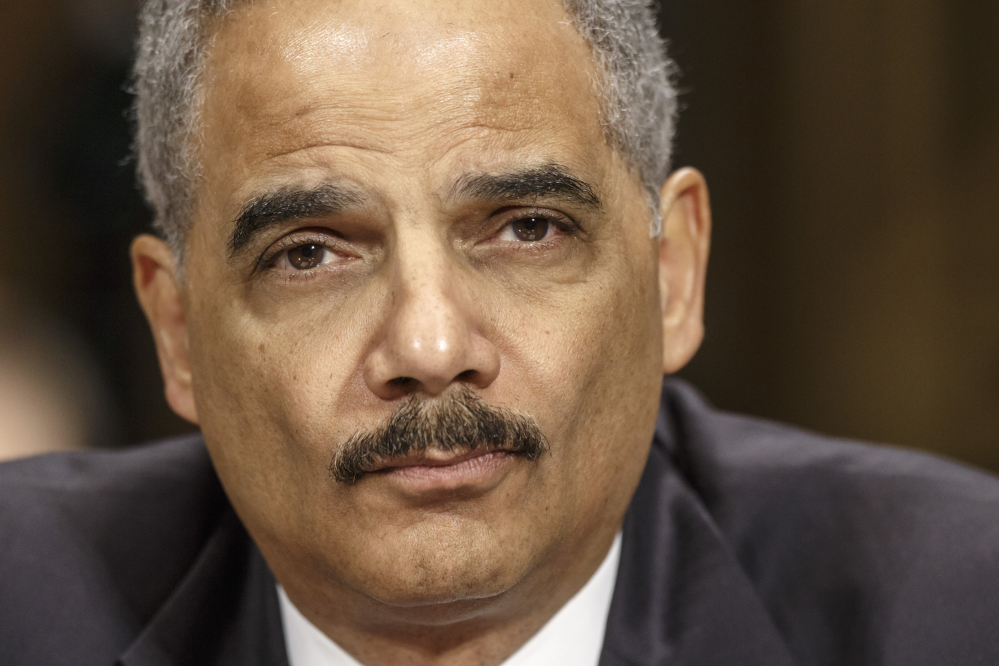 """Attorney General Eric Holder: """"This focused reliance on incarceration is not just financially unsustainable – it comes with human and moral costs that are impossible to calculate."""""""