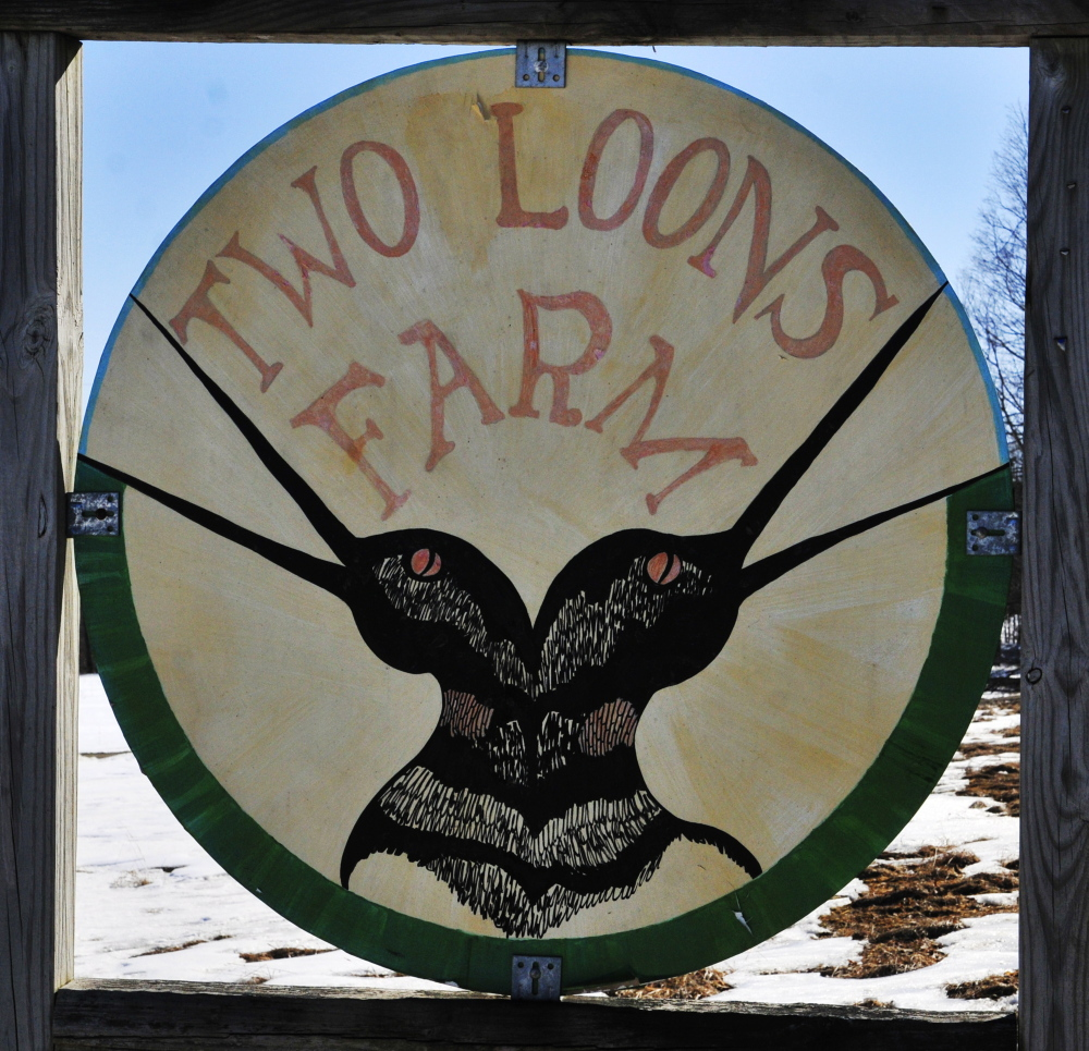 More milk, Please: Spencer Aitel and Paige Tyson, owners of Two Loons Farm, sell their milk to Maine's Own Organic.