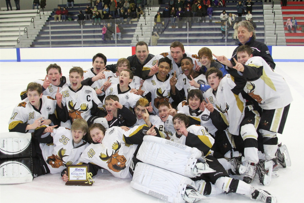 The Maine Moose will compete in the Tier II 14U national championships next week in New Jersey.