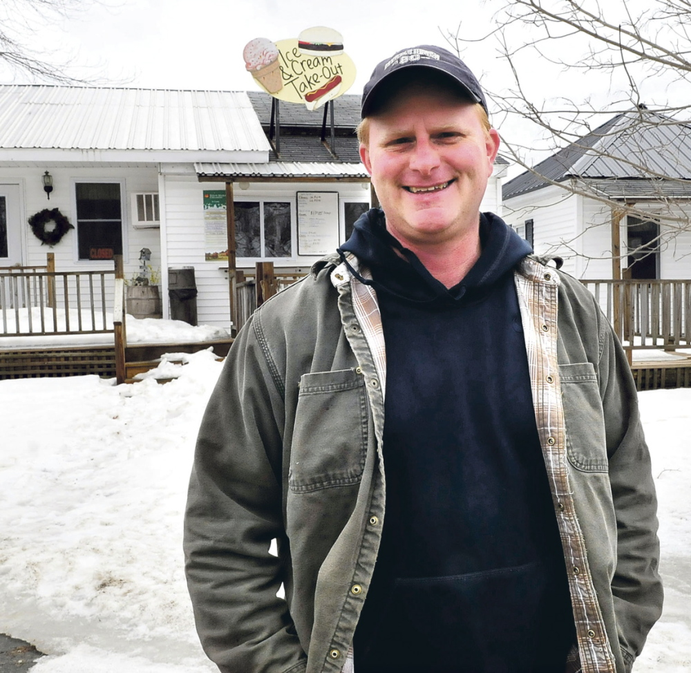 MADE IT: Albion farmer Sam Hawes says he met the deadline for signing up for the Affordable Care Act.
