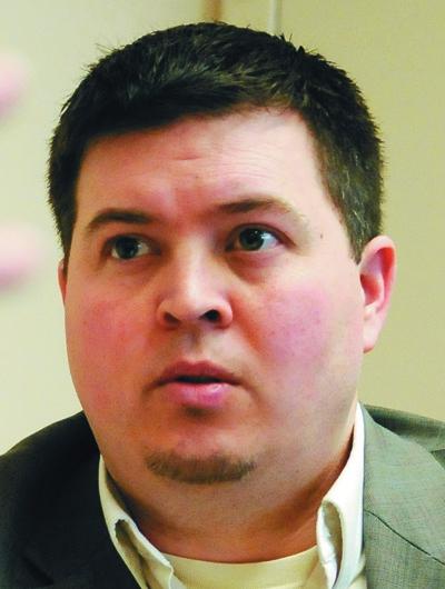 Gardiner city manager Scott Morelli
