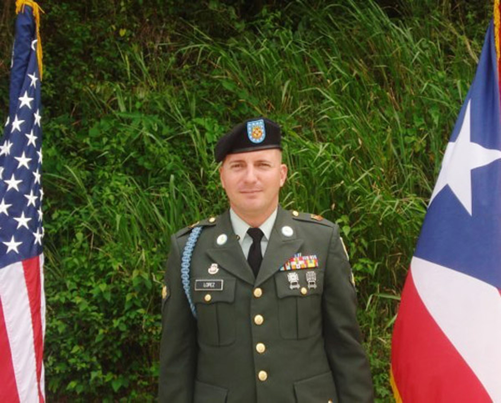 This undated photo provided by Glidden Lopez shows Army Spc. Ivan Lopez. Authorities said Lopez killed three people and wounded 16 others in a shooting at Fort Hood, Texas, on Wednesday, April 2, 2014, before killing himself. Investigators believe his unstable mental health contributed to the rampage.