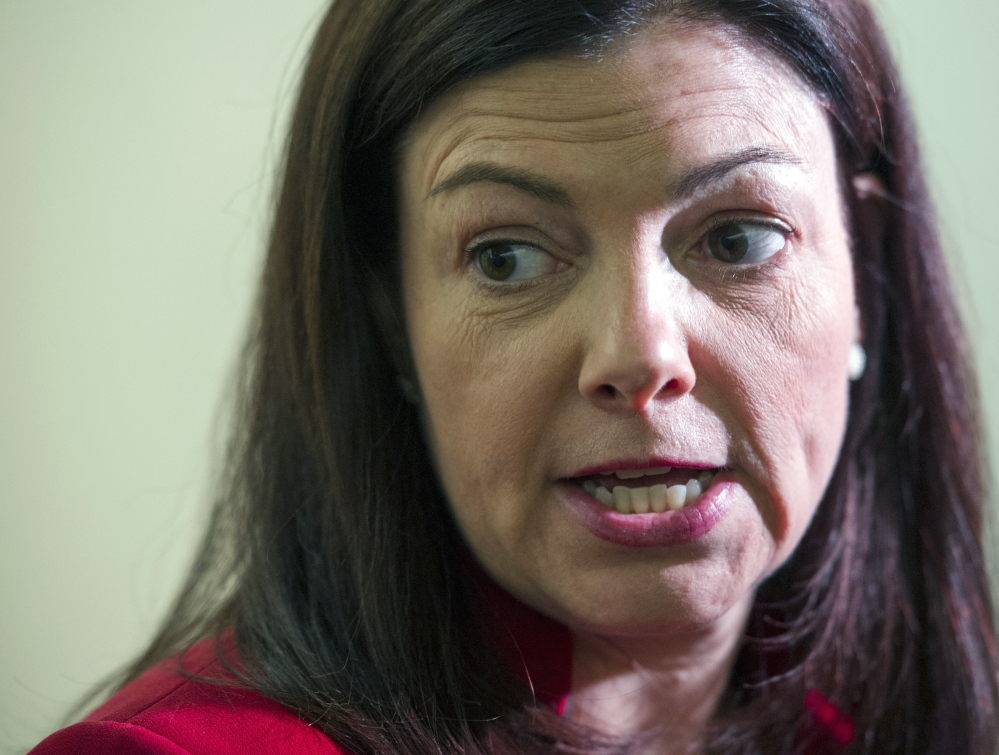 Sen. Kelly Ayotte, R-N.H., says she cannot support the base realignment plan.