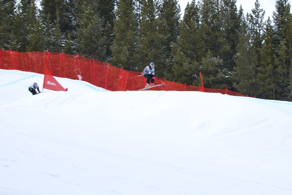 Winthrop native Colby Laflamme, 19, won a national skiercross championship last weekend at Copper Mountain in Frisco, Colo.