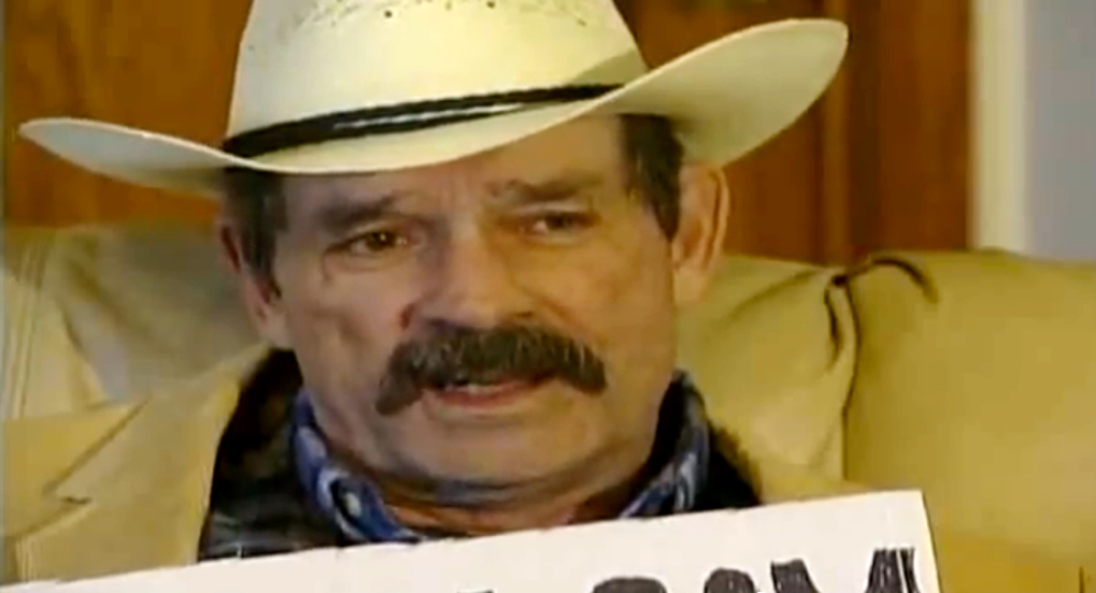 This image taken from a 2006 interview video by KMBC-TV shows Frazier Glenn Cross. Cross, 73, accused of killing three people in attacks at a Jewish community center and Jewish retirement complex near Kansas City on Sunday, is a known white supremacist and former Ku Klux Klan leader who was once the subject of a nationwide manhunt.