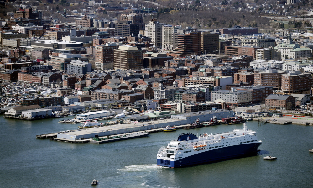 Portland residents got their first close-up look Thursday at the Nova Star ferry. Representatives of the Convention and Visitors Bureau of Greater Portland have been invited to tour the Nova Star, but no public tours have been scheduled to date. The ship will be christened in Boston on May 12.
