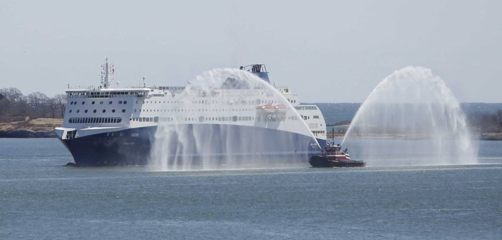 Once service begins May 15, the ferry is expected to make the 212-mile journey daily through Nov. 2. One-way fares will range from $79 to $139.