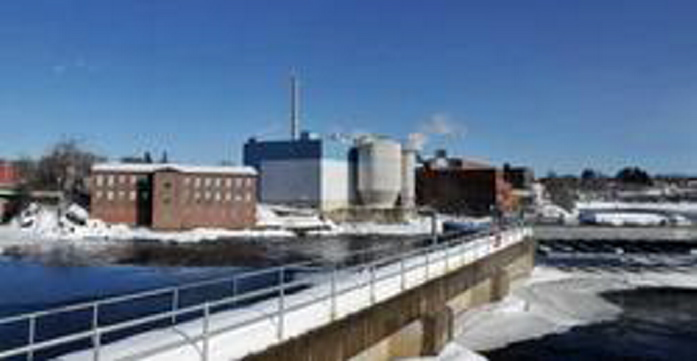 CONNECTED: The Madison Paper mill in Madison is now connected to Summit Natural Gas of Maine's supply line.